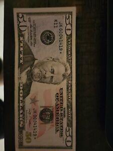 50 dollar bill star note 2009