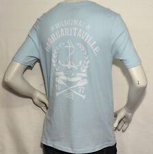 Men's T-Shirt -Margaritaville- ORIGINAL 1977- Light Blue-100% Cotton-Nice Fabric