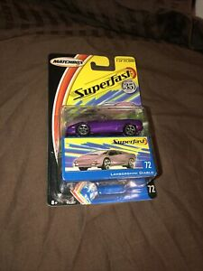 Matchbox - 2004 USA Superfast #72 - Lamborghini Diablo - Purple