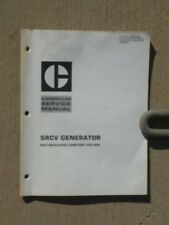 CATERPILLAR SRCV Generator Service Manual