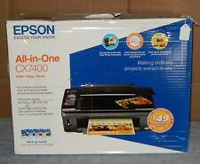 Epson Stylus CX7400 All-In-One Inkjet Printer & Ink
