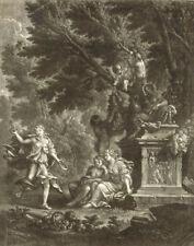 Gravure du XIXe siècle et avant religion, mythologie pour Classicisme