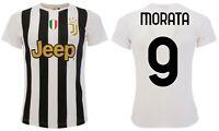 Maglia Morata Juventus 2020 2021 ufficiale Alvaro 9 Juve Home divisa