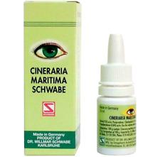 Schwabe Cineraria Maritima Eye Drops 10ml 100% Natural safe Herbal Remedy