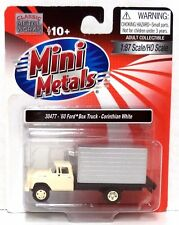 HO Scale Classic Metal Works 30477 1960 Corinthian White Ford Delivery Truck