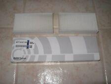 1  BMW OEM F25 X3 2011-2015 Recirculated Air Microfilter Set 64119237159