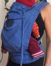 Mei Tai Babytrage Trage Carrier Tragetuch Bauchtrage Baby Ergo my Sol Goa hippie