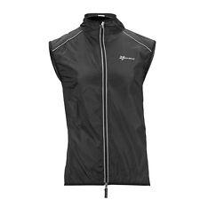 RockBros Cycling Wind Vest Windvest Sleeveless Sports Jersey Black