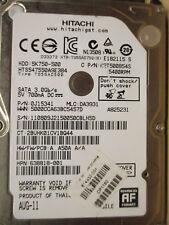 500 GB HITACHI hts547550a9e384/0j15341/da3931/disco rigido PCB OK aug-11