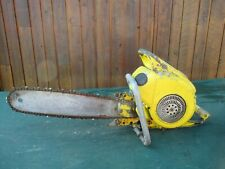 """Vintage MCCULLOCH Model 47 Chainsaw Chain Saw with 19"""" Bar VERY OLD"""