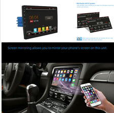 Car Multimedia 4K Video Player 1DIN PX6 Radio GPS Touchable+ Backup Camera