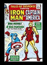 Iron Man&Capitán América Imán de nevera ( SD)