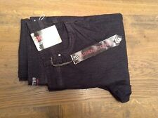 Skinny Authentic Denim womens black skinny jeans size 12/14 32L
