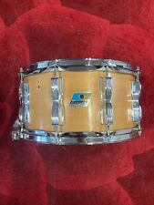"""Ludwig Classic Rock / Concert Maple Snare Drum -7x14"""" Vintage - Natural Finish"""