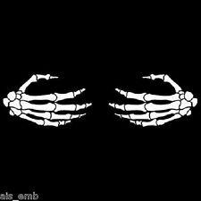 Breast Grasping Skeleton Hand HEAT PRESS TRANSFER PRINT for Shirt Sweatshirt 671