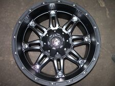 Fuel Offroad Hostage Black 18x9 Chevy Jeep Dodge Ford