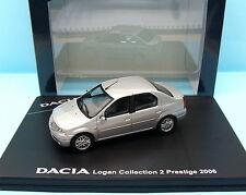 ELIGOR / DACIA RENAULT LOGAN COLLECTION 2 PRESTIGE GRIS METAL 1/43