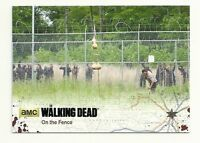2016 The Walking Dead Season 4 Part 2 Black Foil Parallel Card #1  Rick Grimes