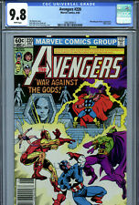 Avengers #220 (1982) Marvel CGC 9.8 White Pages Moondragon & Drax Appearance