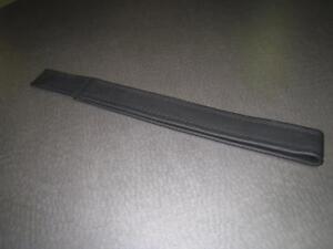 DMC DeLorean Black Leather Door Pull Strap