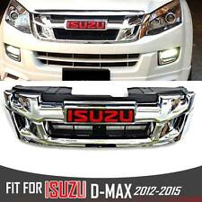FRONT CHROME GRILL GRILLE ISUZU X SERIES DMAX HOLDEN RODEO D-MAX 2012 2013 14 15