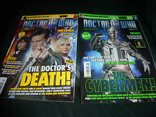 Doctor Who Magazine issue 426 + 427