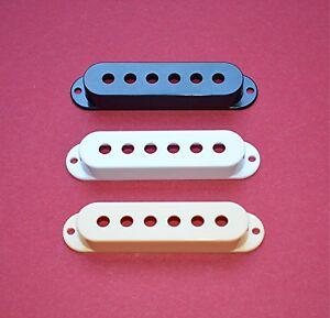 OEM-Pickup-Kappe-Single-Coil-Pickup-creme-weiß-schwarz-48-50-52-mm-Spacing