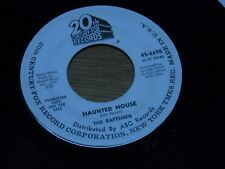 HALLOWEEN-ISH 45, THE RAFTSMEN.  HAUNTED HOUSE  /  HANDS I LOVE.