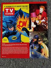 BATMAN ROBIN PENGUIN RIDDLER JOKER MAGAZINE ADVERTISEMENT PRINT AD