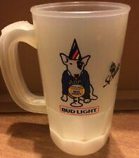 VINTAGE 1986 SPUDS Mackenzie BUD LIGHT Plastic MUG~Cup Stein Beer