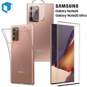 Samsung Galaxy Note 20 / Ultra Screen Protector Tempered Glass+Case+Camera Cover