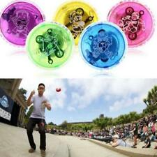 LED Colorful YoYo Light Up Flashing Glow Yo-Yo Spinner Toy Kids Children Toys