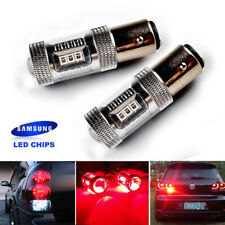 Red 30W SAMSUNG LED Side Indicator Tail Stop Brake Bulb Light 380 P21/5W 1157