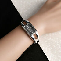 Xmas Gift KIMIO Bracelet Bangle Quartz Wrist Watch Womens Lady Girls Black Dial