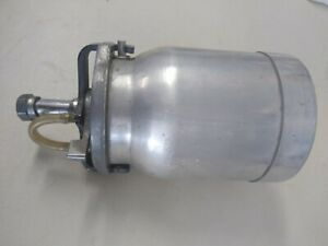 BINKS  1QT ALUMINUM CANISTER CUP USED  💲 GREAT VALUE💲LOOK.