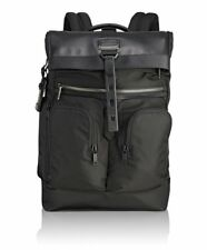 Tumi Men's Alpha Bravo London Roll-top Backpack Black 1041 One Size