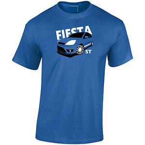 Lumipix Ford Fiesta MK6 ST Inspired Mens Car T-Shirt. Great Gift!
