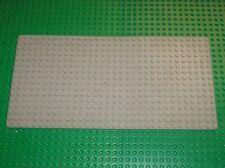 LEGO Baseplate 16 x 32 OldGray Ref. 3857 / Set 9701 7824 6990 6958 10027 4555..