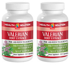 Helping With The Stress - VALERIAN ROOT EXTRACT 125mg - Help With Digestion 2B