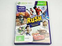 Mint Disc Xbox 360 Kinect Rush A Disney Pixar Adventure Free Postage