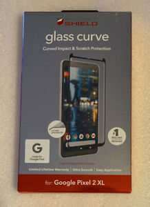 ZAGG Glass Curved Screen Protector for Google Pixel 2 XL - Clear