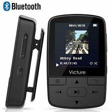 Victure Bluetooth MP3 Player 16GB Clip Sport Portable Lossless Sound Hi-Fi Music