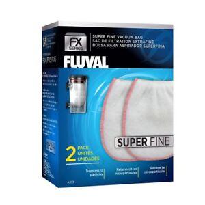 Fluval FX Gravel Vac Bag - Super Fine x2 *GENUINE* For FX Aquarium Gravel Vac