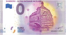 0 Euro Schein Bamberg  Altes Rathaus im Fluss Neue Auflage 2020