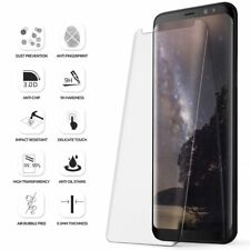 Samsung Galaxy S8 Screen Protector Tempered Glass 5D Curved Case Friendly Clear