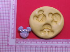 Minnie Mouse with Bow Silicone Mold Cake Pop Fondant Resin Clay Craft Candy A950