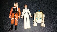 Vintage Star Wars Luke X Wing Leia R2D2