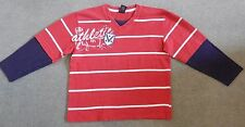 Next - red, white, blue long sleeve top - aged 5 years