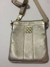 Coach Colette Signature Swingpack Crossbody Neutral Gold 44752