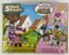 Disney Junior Doc McStuffins 5 Wood Puzzles